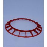 AGROFORTEL Alimentator tub galvanizat - 18 kg - inel anti-poluare