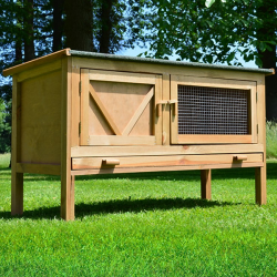 Coșă de iepure din lemn KOŠICE, 1180x450x690 mm