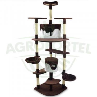 Ansamblu de joacă pentru pisici GARFIELD G3 - Maro-bej