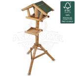 Alimentator de păsări din lemn Fermă de păsări